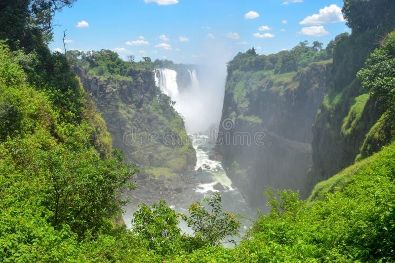 Victoria Falls, Zimbabwe image libre de droits