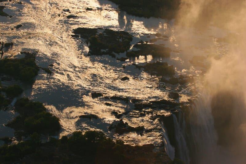 Victoria Falls Zimbabwe lizenzfreies stockbild