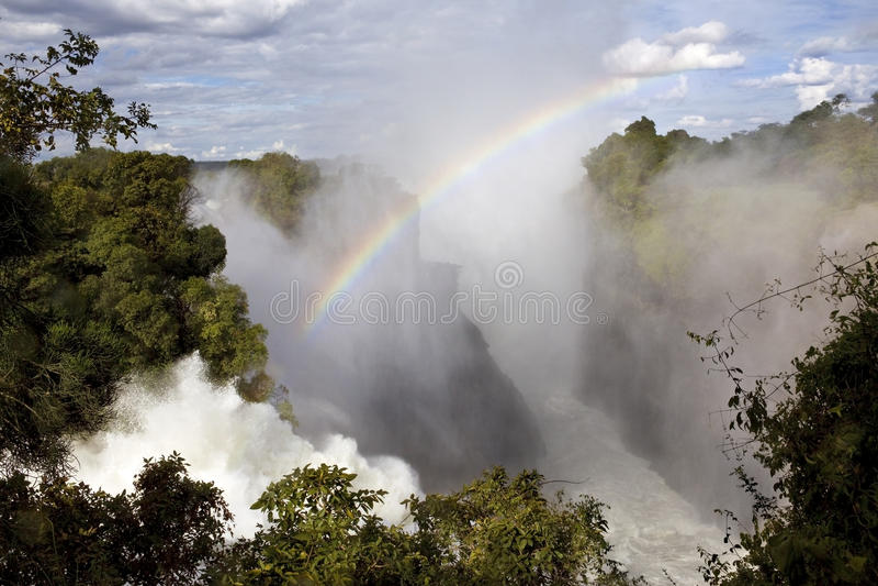 Victoria Falls - Zimbabwe imagen de archivo libre de regalías