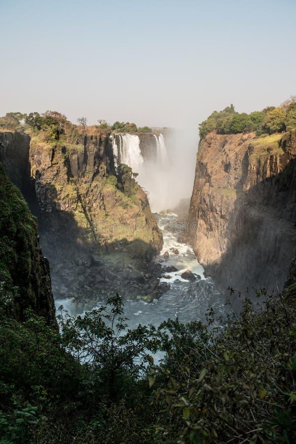 Victoria Falls Zimbabwe imágenes de archivo libres de regalías