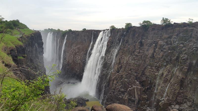 Victoria Falls Zimmie image stock
