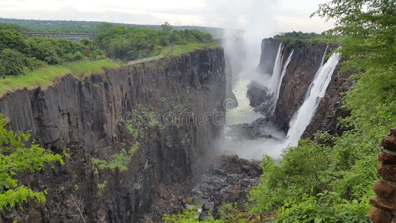 Victoria Falls Zimmie image libre de droits