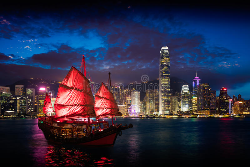 Victoria Harbour stock foto