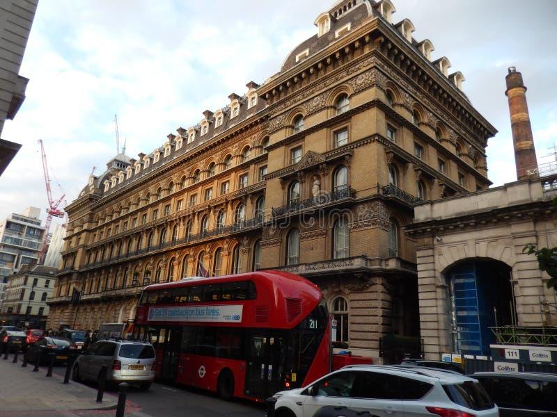 Victoria hotell London - UK royaltyfri bild