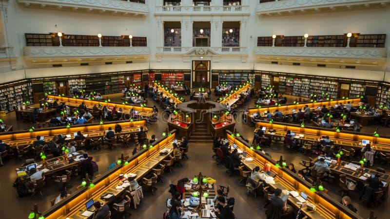 Victoria Library, Melbourne photos stock