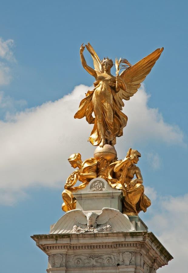 Victoria Memorial, Buckingham Palace, London stock photography