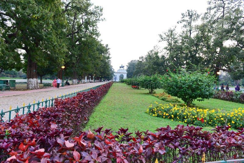 Victoria Memorial Garden imágenes de archivo libres de regalías