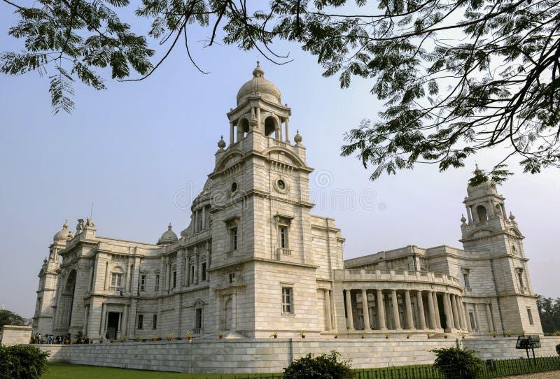 Victoria Memorial Hall in Calcutta, India immagini stock