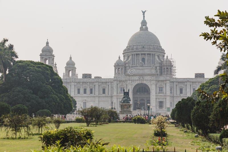 Victoria Memorial Hall in Calcutta, India immagine stock