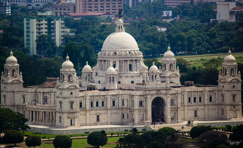 Victoria Memorial Hall, Kolkata photographie stock libre de droits