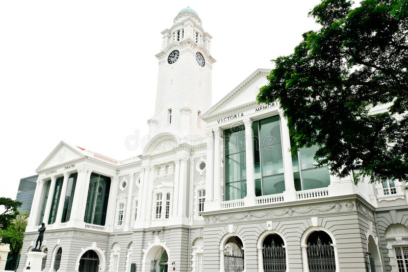 Victoria Memorial Hall Singapore lizenzfreies stockfoto