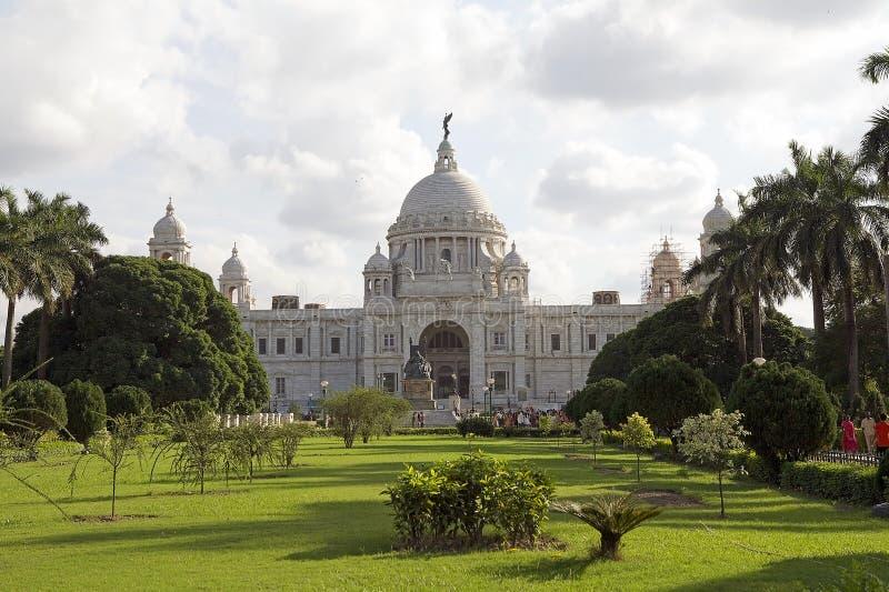 Victoria Memorial, Kolkata, Indien lizenzfreies stockfoto