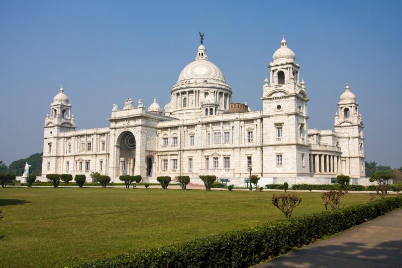 Victoria Memorial - Kolkata (Kalkutta) - Indien lizenzfreies stockbild