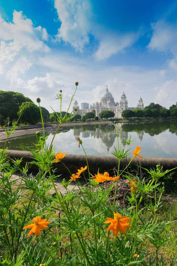 Victoria Memorial, Kolkata royalty free stock image