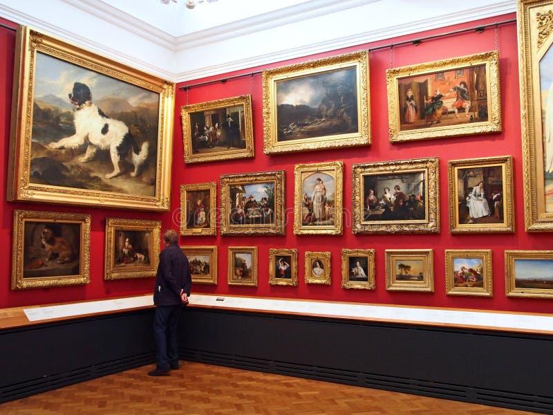 Victoria och Albert Museum arkivbilder