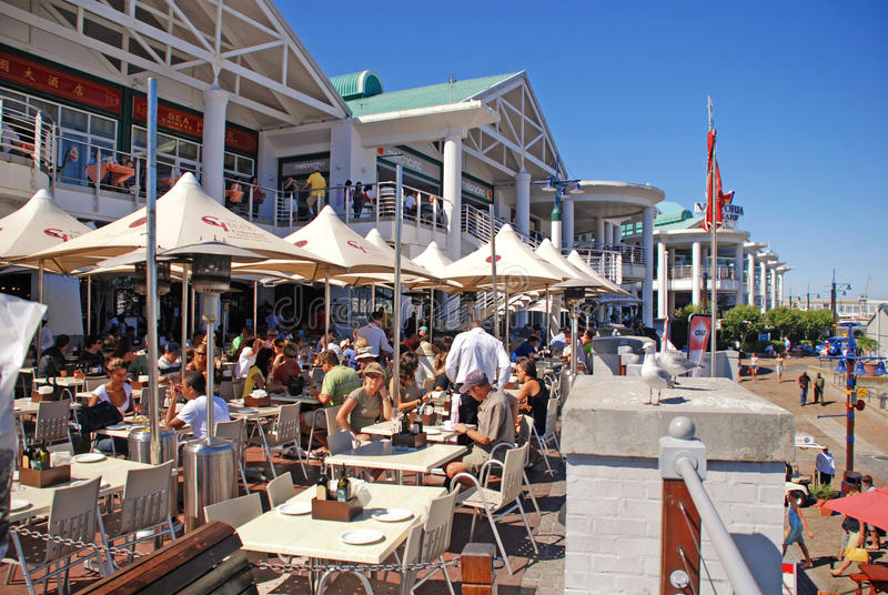 Victoria och Albert Waterfront, Cape Town, Sydafrika royaltyfria foton