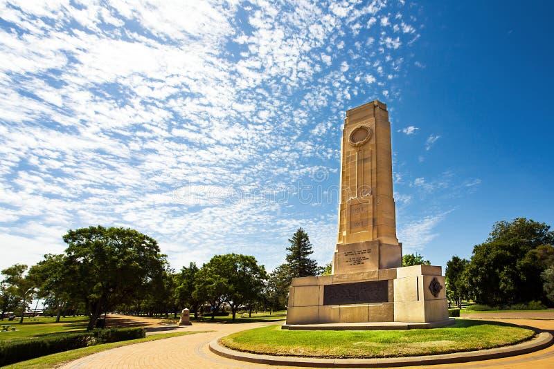 Victoria Park dans l'Australie de Dubbo image stock