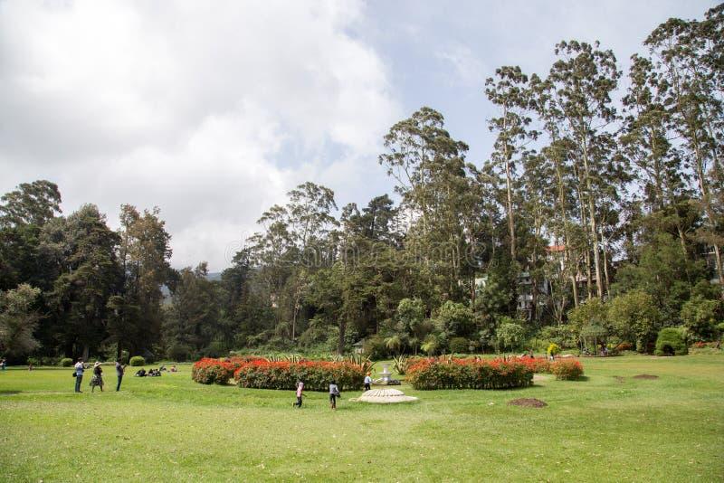 Victoria Park en Nuwara Eliya, Sri Lanka foto de archivo libre de regalías