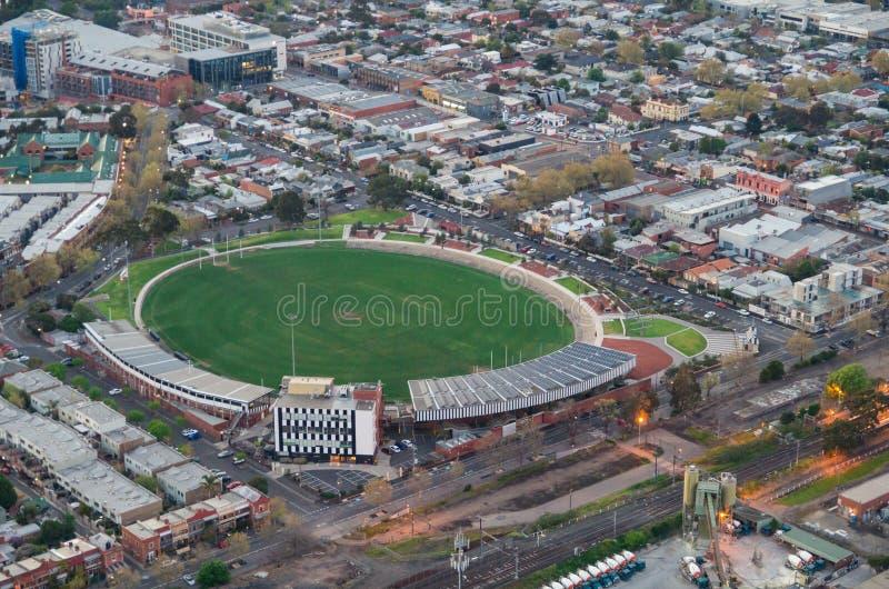 Victoria Park fotbolloval arkivbilder