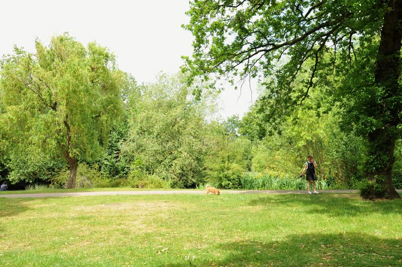 Victoria Park is the largest park in the London Borough of Tower Hamlets in East London, England. royalty free stock images