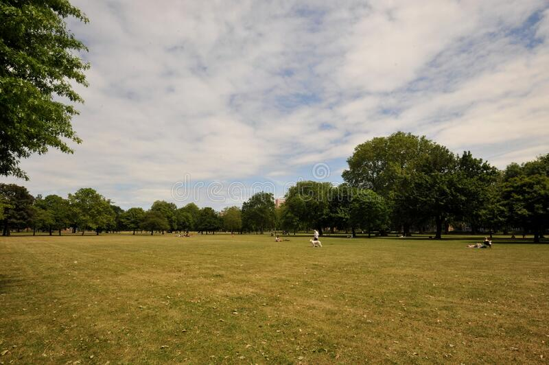 Victoria Park is the largest park in the London Borough of Tower Hamlets in East London, England. stock image