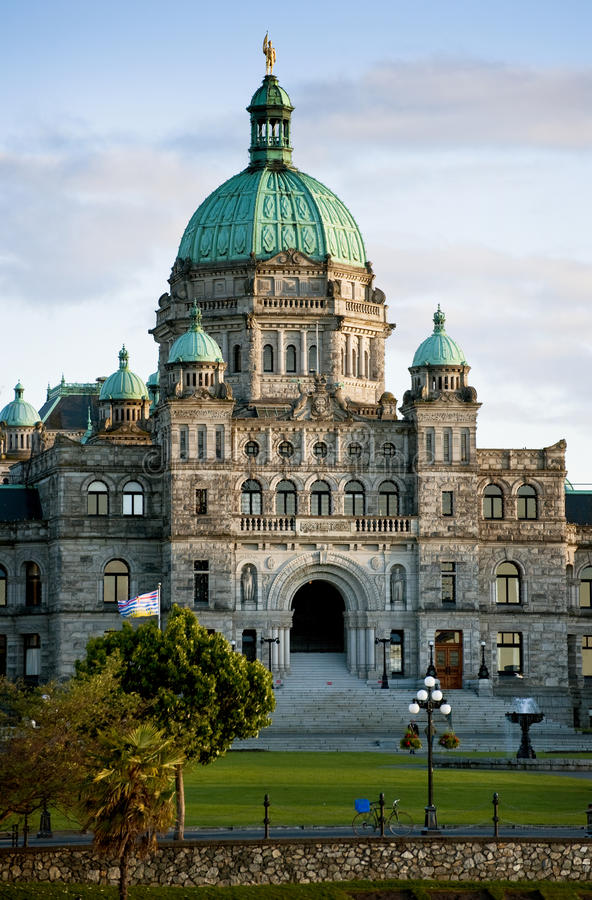 Victoria Parliament Building. stockbild