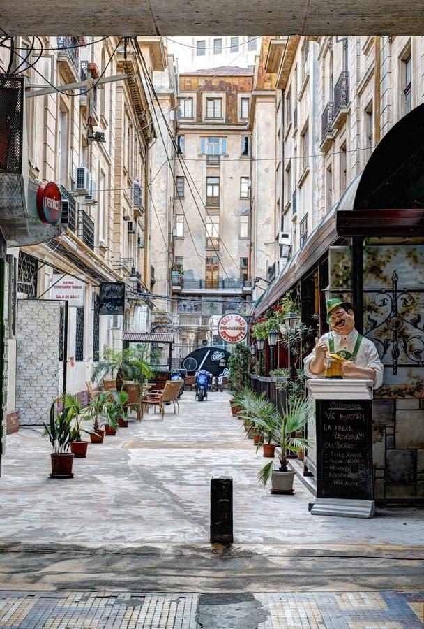Victoria Passage à Bucarest images libres de droits
