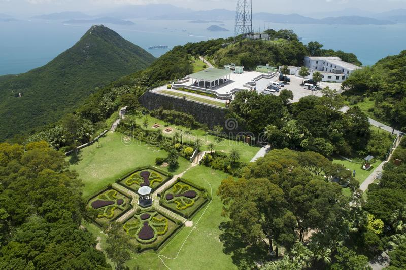 Victoria Peak Garden stockfoto
