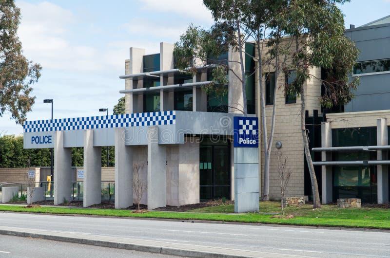 Victoria Police-Station in Springvale, Melbourne lizenzfreie stockfotos