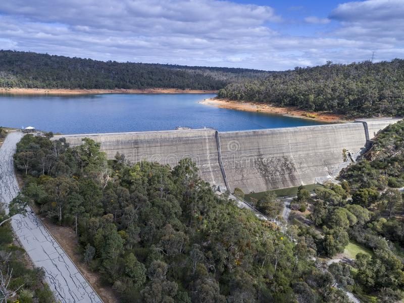 Victoria Reservoir stock images