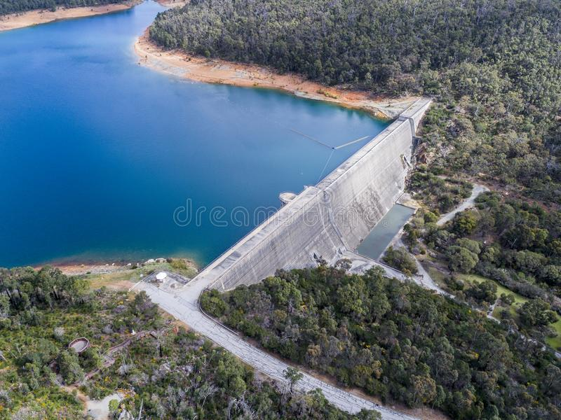 Victoria Reservoir royalty free stock images