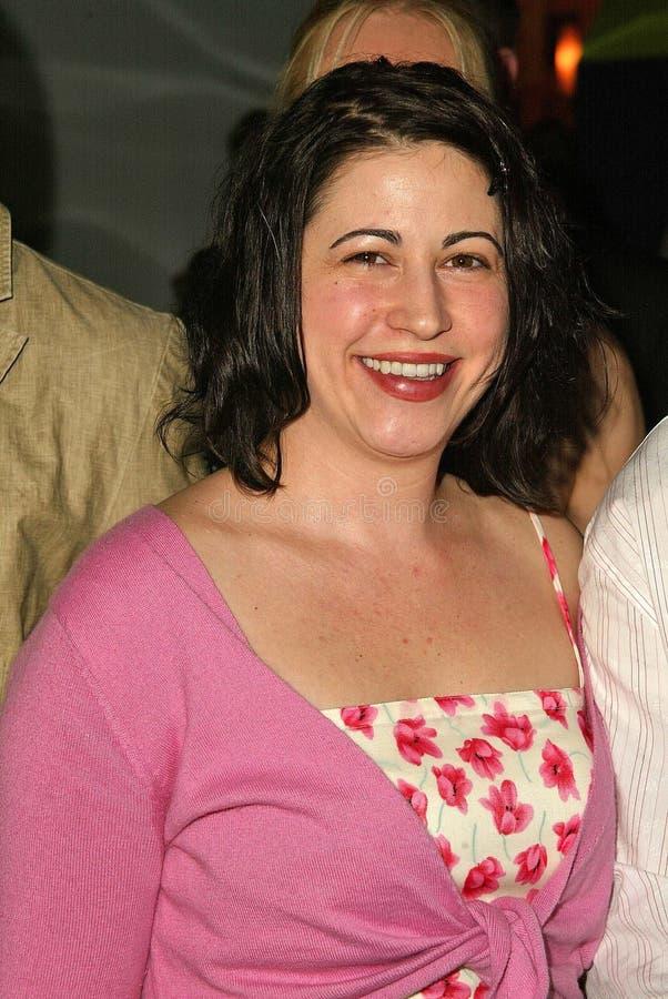 Victoria Rocchi à la première des studios de Skyway   image stock