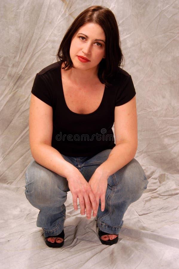 Victoria Rocchi comme Annie photos libres de droits