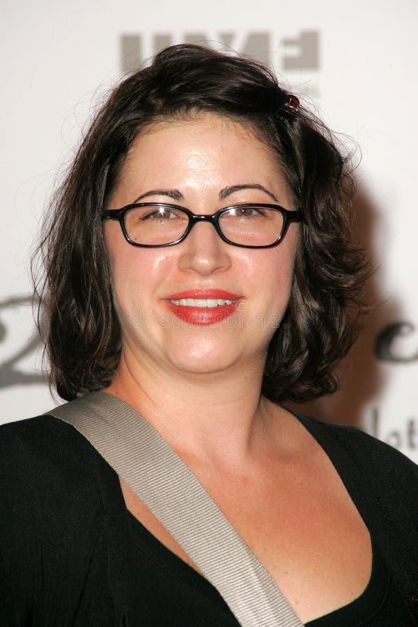 Victoria Rocchi obtenant à 2 soit collection libre de la source 2006. Studios de Paramount, Hollywood, CA 10-15-05 photographie stock