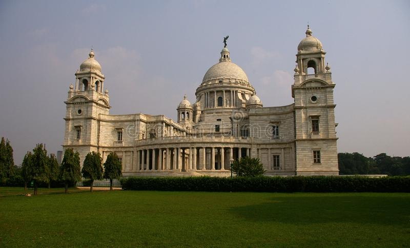 Victoria Salão memorável, Kolkata, India foto de stock royalty free