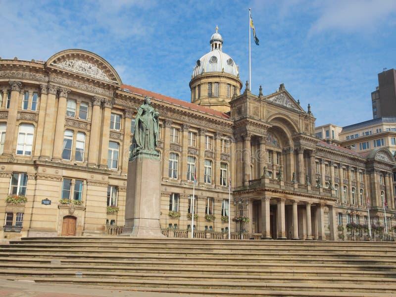 Victoria Square, Birmingham foto de archivo libre de regalías