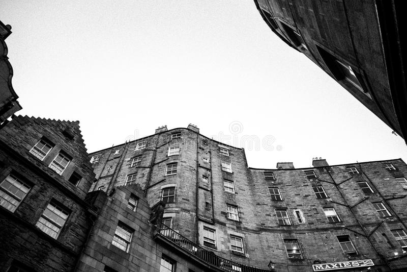 Victoria St, Edinburgh royalty free stock photos