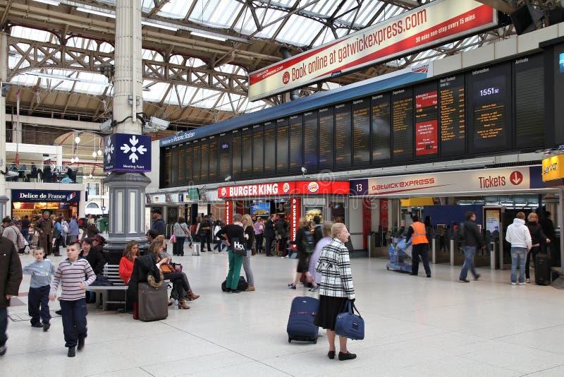 Victoria Station images libres de droits