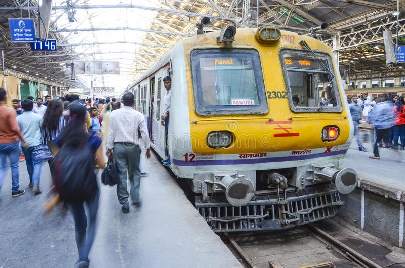 Victoria-station, Mumbai, India royalty-vrije stock foto
