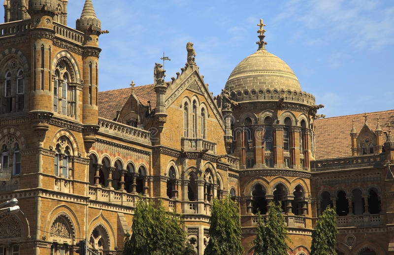 Download Victoria Terminus stock image. Image of historic, monument - 13712457