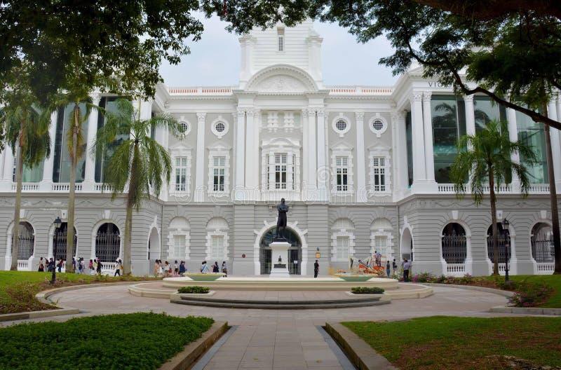 Victoria Theatre und Konzertsaal, Singapur stockbilder
