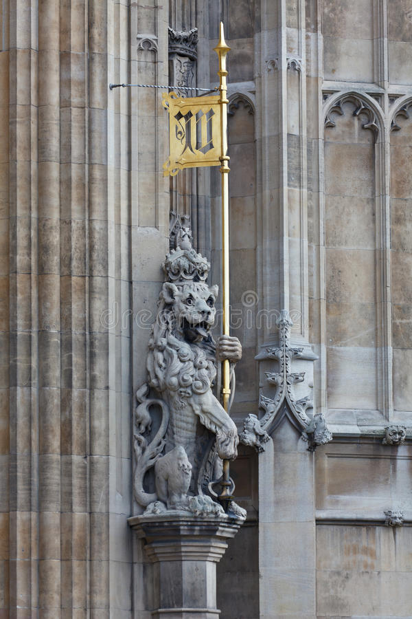 Download Victoria Tower detail stock image. Image of city, lion - 23241725