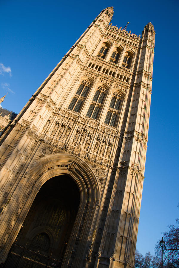 Victoria Tower In London Stock Photos