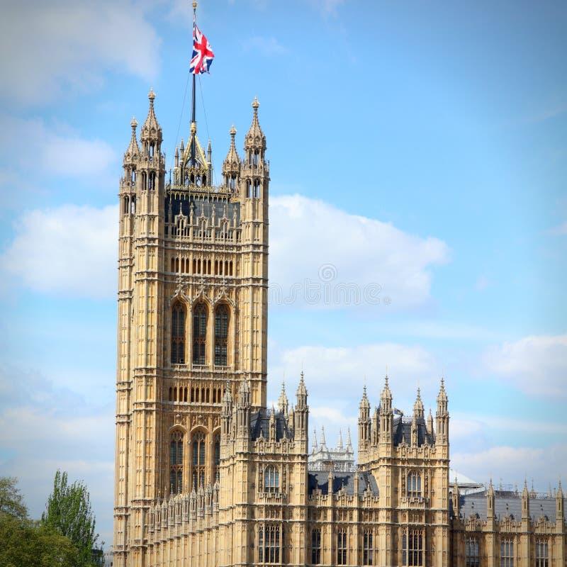 Victoria Tower, Londres images libres de droits