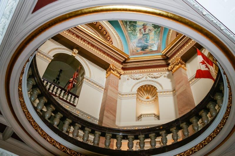 VICTORIA, VANCOUVER ISLAND/BRITISH COLOMBIA - 12 AGOSTO: Britis immagini stock libere da diritti