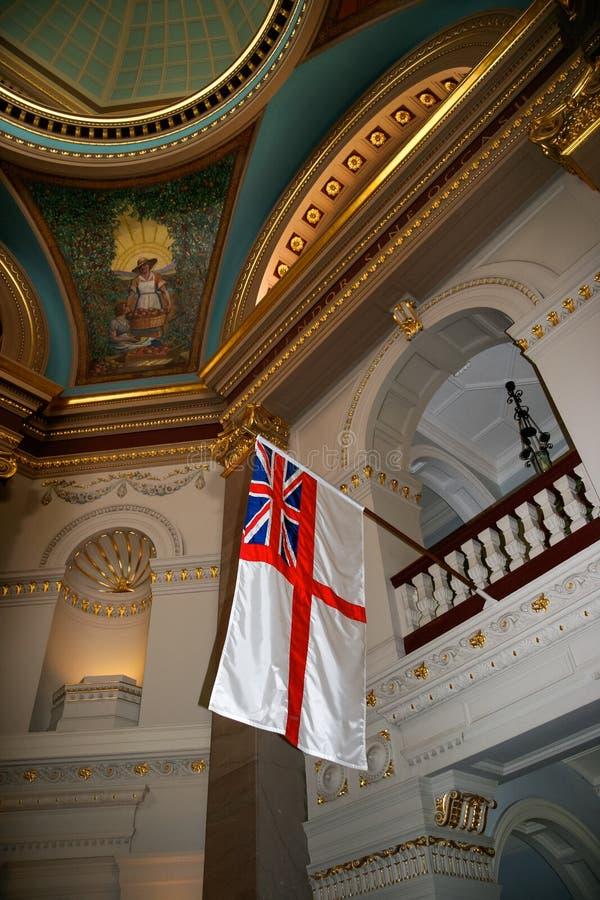 VICTORIA, VANCOUVER ISLAND/BRITISH COLOMBIA - 12 AGOSTO: Britis fotografia stock libera da diritti