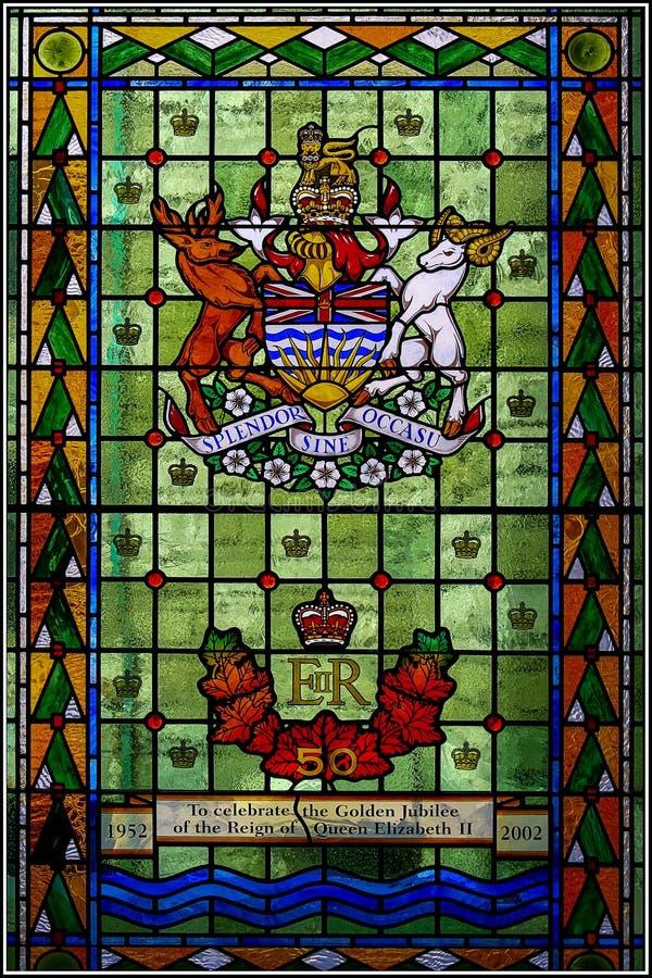 VICTORIA, VANCOUVER ISLAND/BRITISH COLOMBIA - 12 AGOSTO: Staine immagini stock libere da diritti