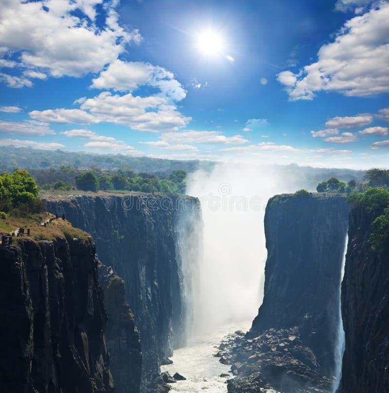 Free Victoria Waterfall Stock Photo - 54193430