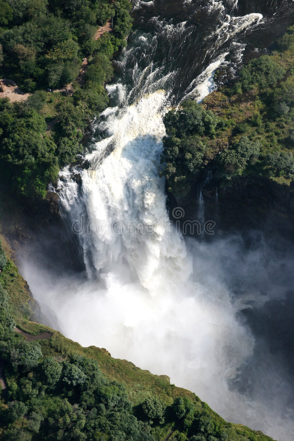 Download Victoria Waterfall And The Zambesi River Stock Image - Image: 227359