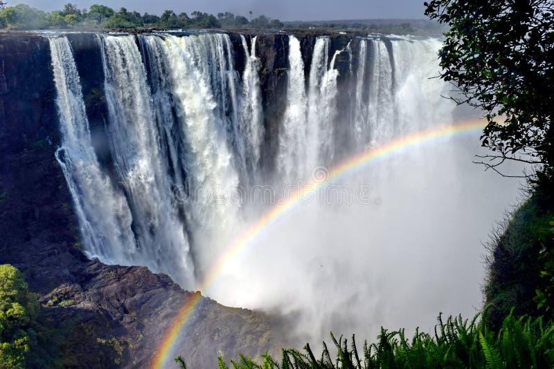 Victoria waterfall stock photos